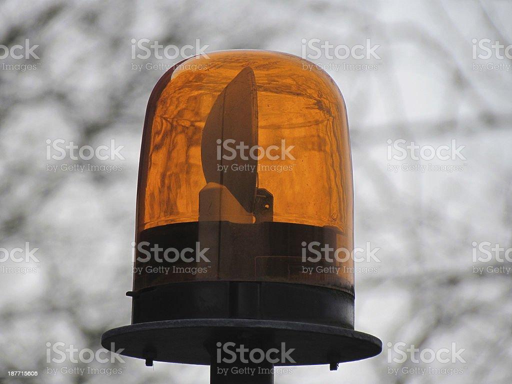 Emergency Light royalty-free stock photo