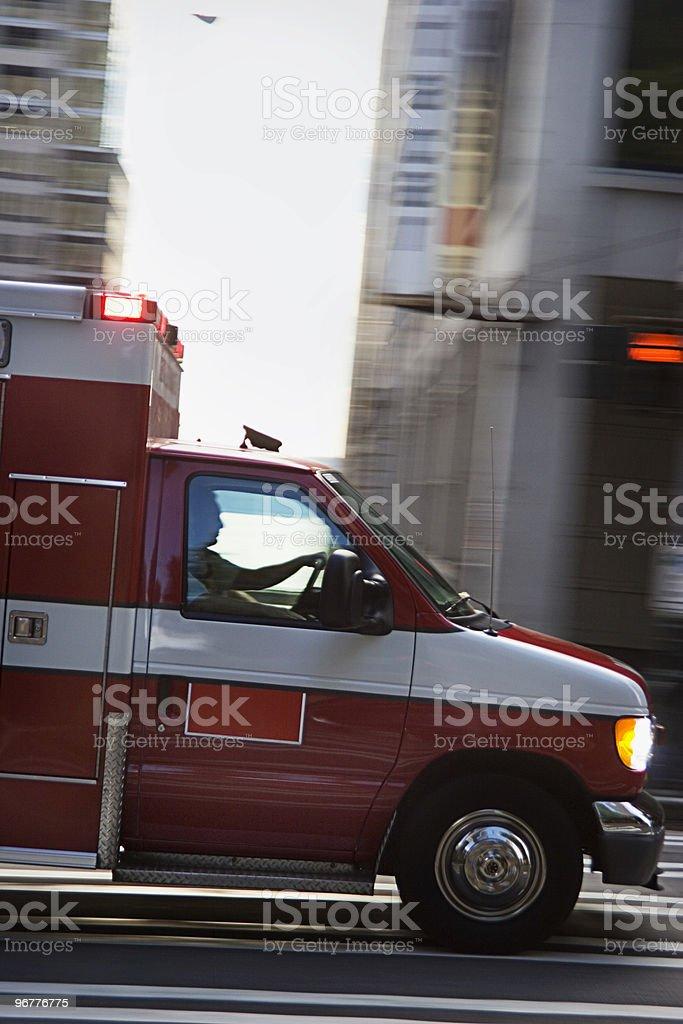 Emergency Matters royalty-free stock photo