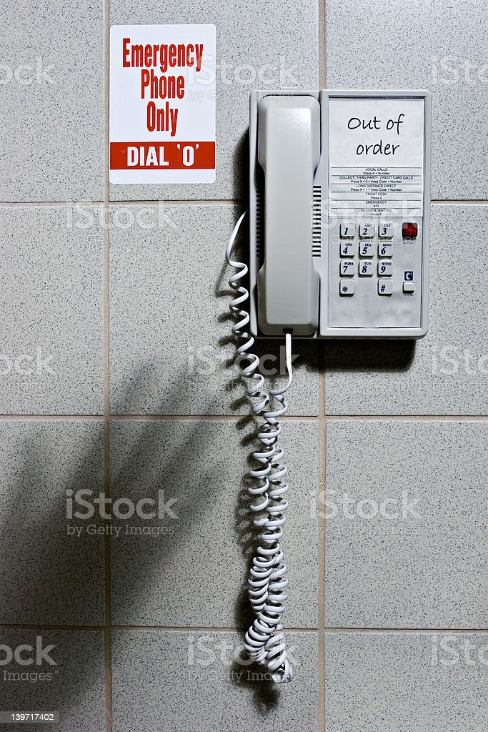 Emergency!! royalty-free stock photo