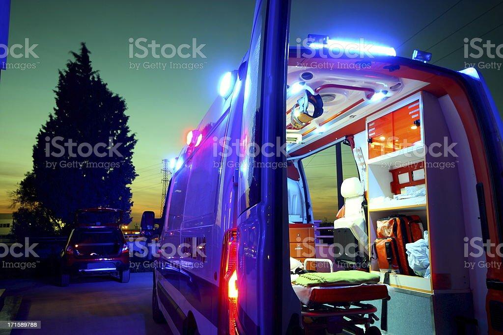 Emergency stock photo