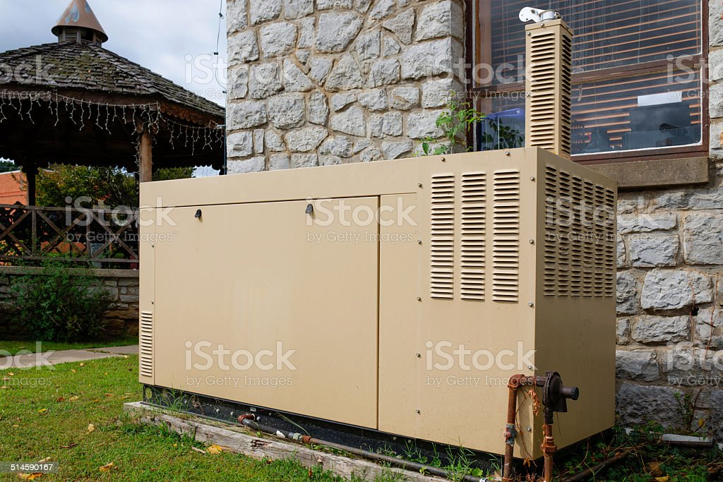 Emergency Power stock photo