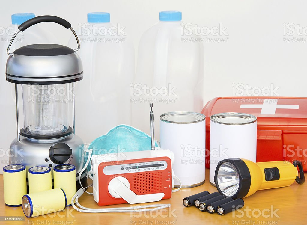 Emergency Preparation Equipment royalty-free stock photo
