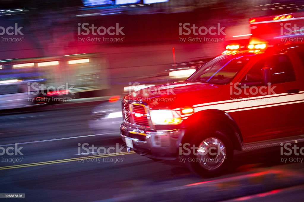 Emergency Responder stock photo