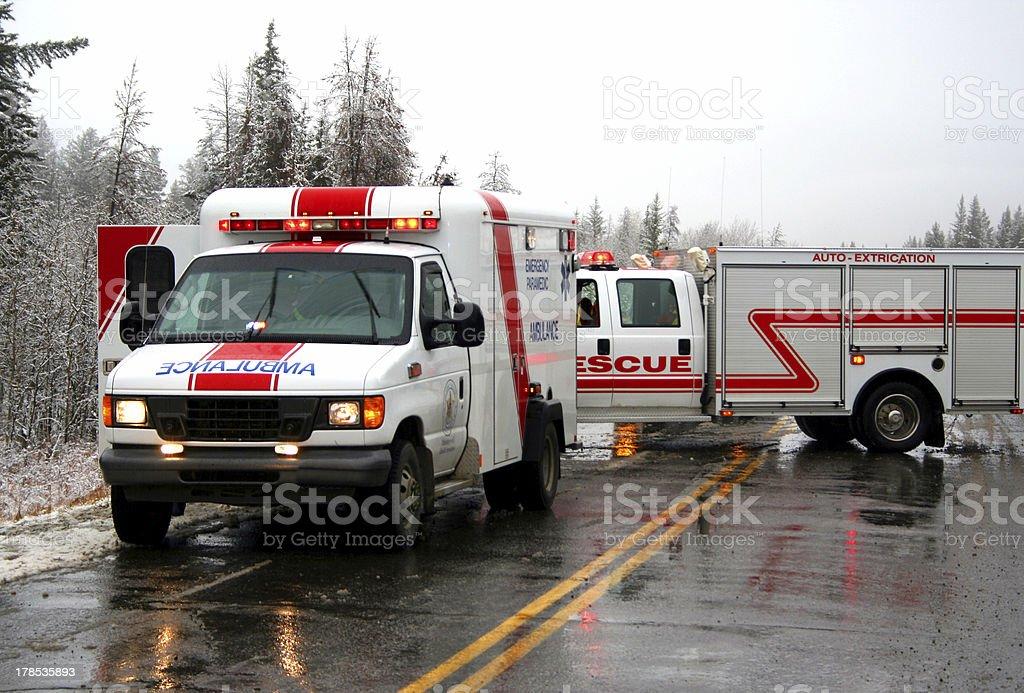 emergency response team stock photo