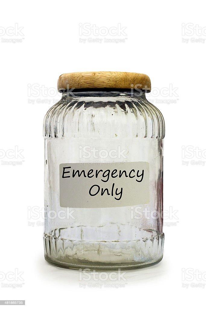 Emergency Savings stock photo