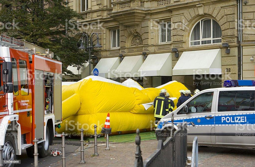 Emergency Scene royalty-free stock photo