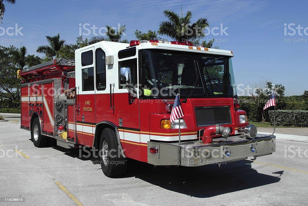 Emergency Truck stock photo