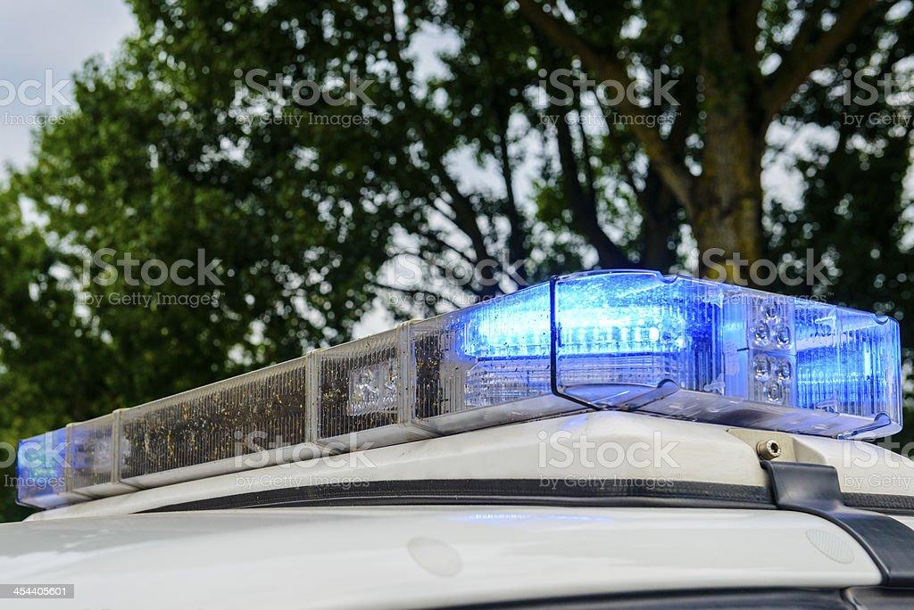 Emergency vehicle lighting royalty-free stock photo