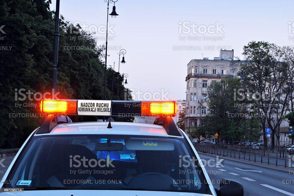 Emergency vehicle stock photo