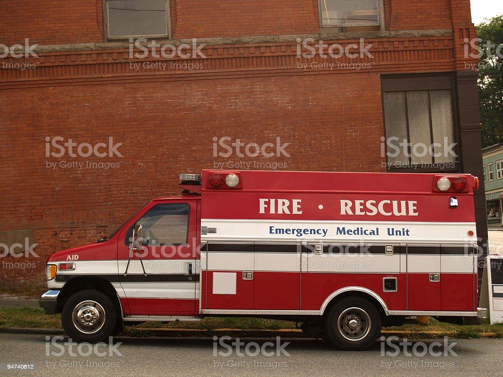 Emergency Vehicle royalty-free stock photo