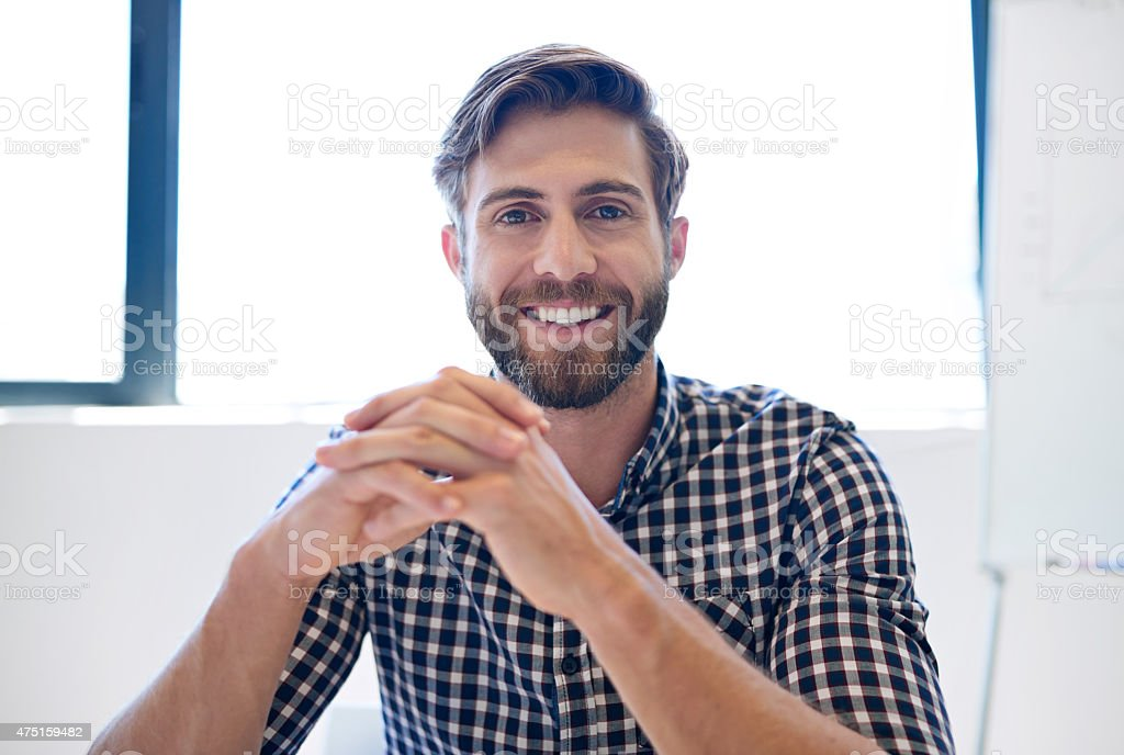 Emerging business talent stock photo