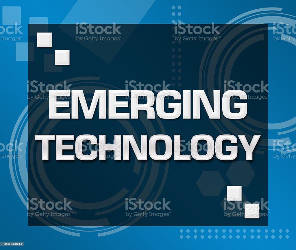 Emerging Technology Technical Background stock photo