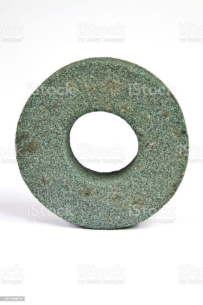 Emery disc stock photo