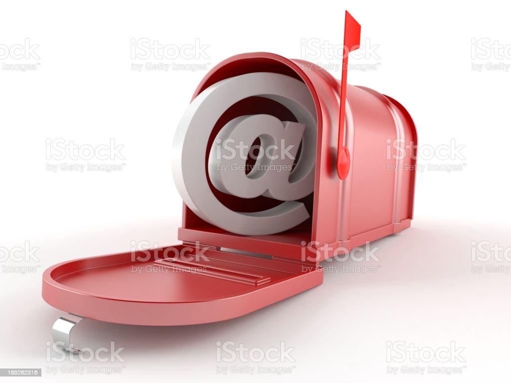 E-mial stock photo