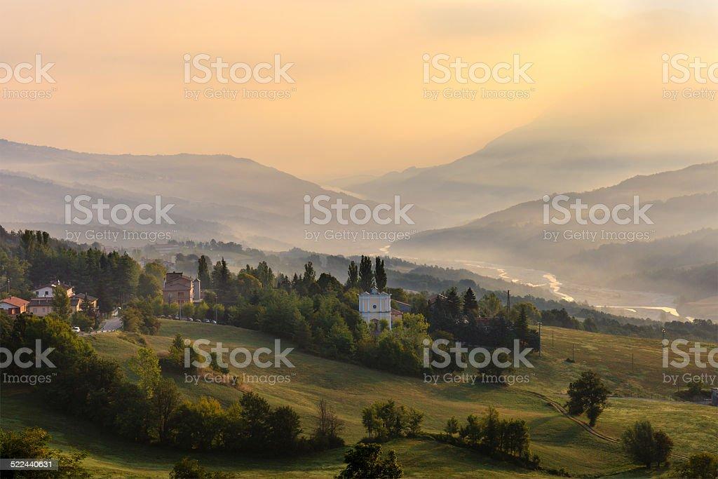 Emilia-Romagna, Italy stock photo