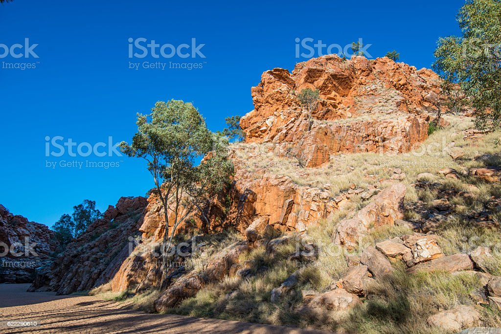 Emily Gap, Alice Springs, Australia stock photo