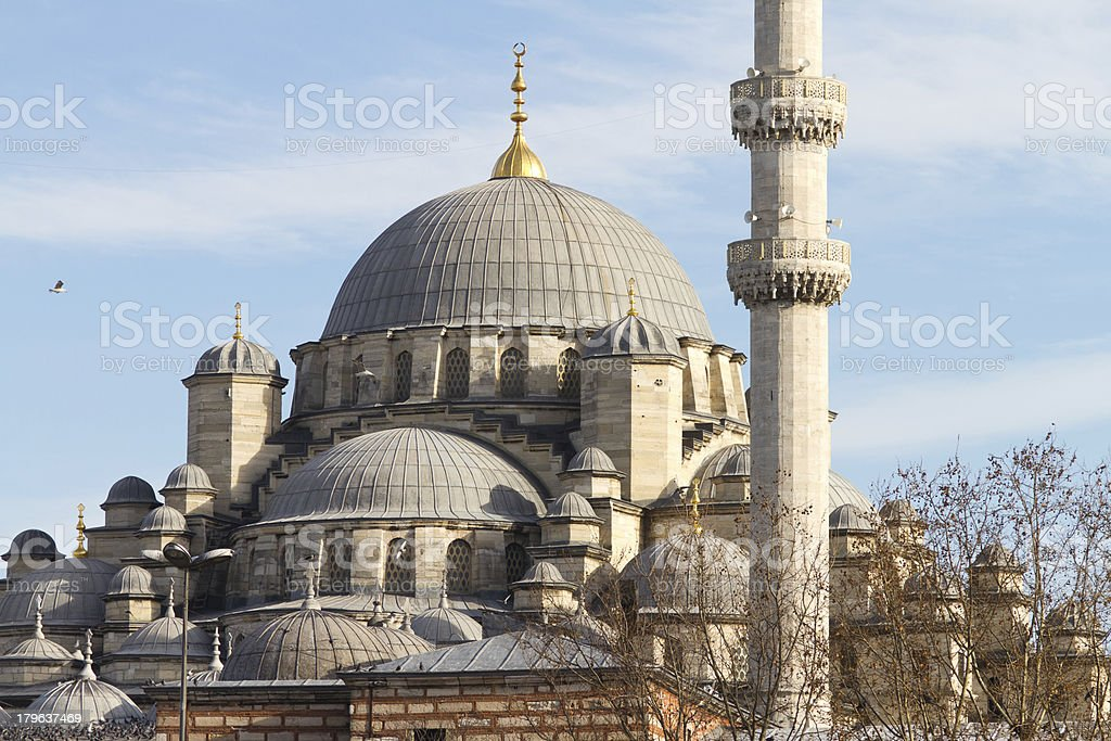 Eminonu New Mosque royalty-free stock photo