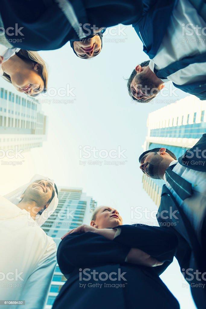 Emirates business team stock photo