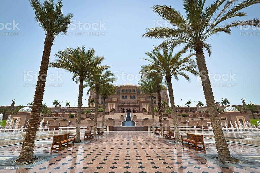 emirates palace abu dhabi stock photo