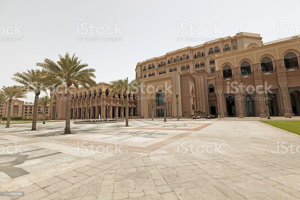 Emirates Palace royalty-free stock photo