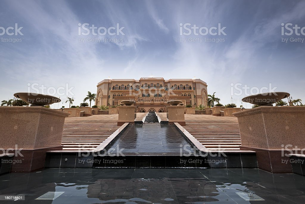 Emirates Palace royalty-free stock photo