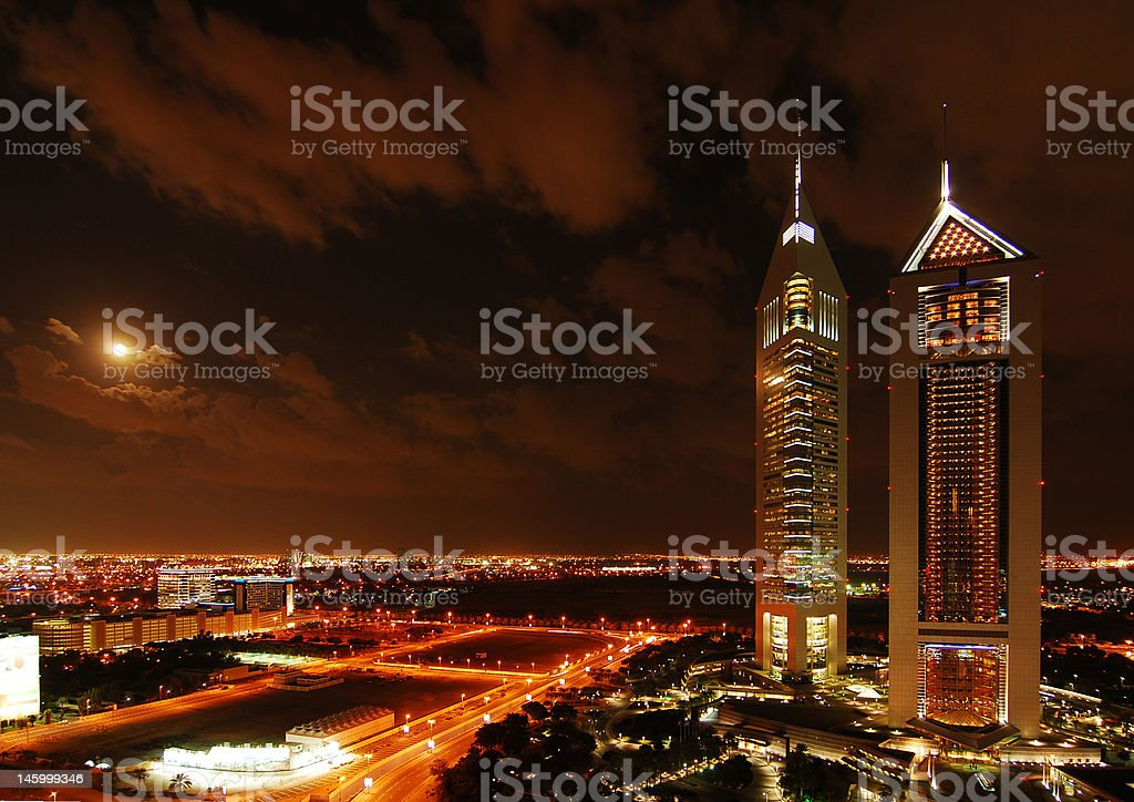 Emirates Tower stock photo