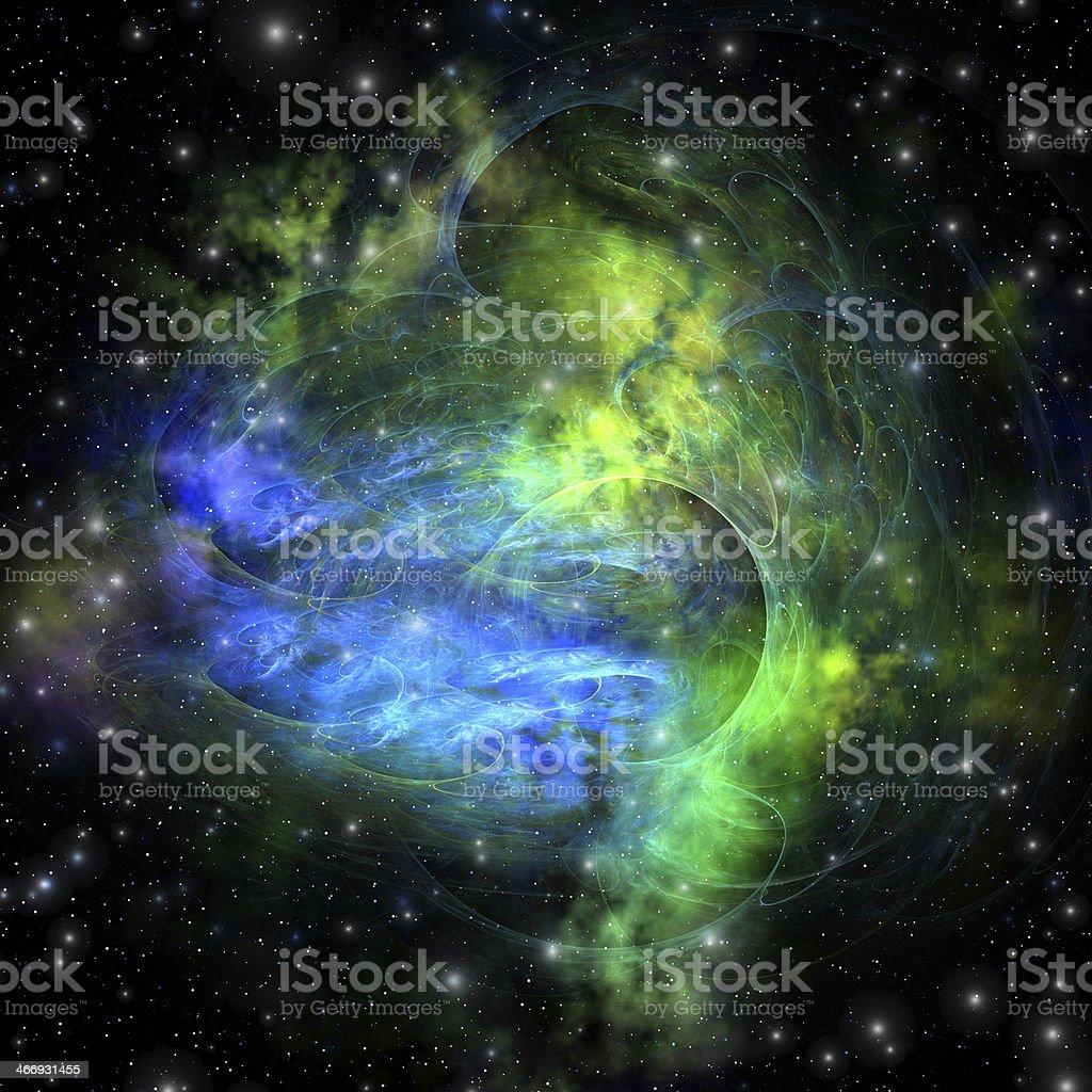 Emission Nebula stock photo