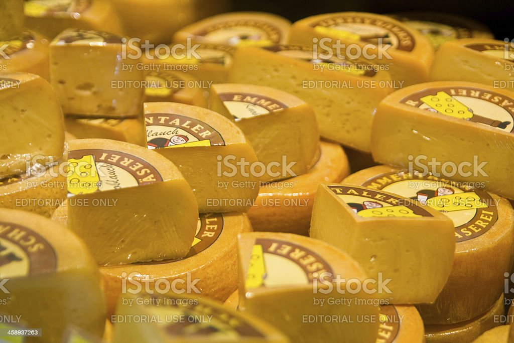 Emmental chees royalty-free stock photo