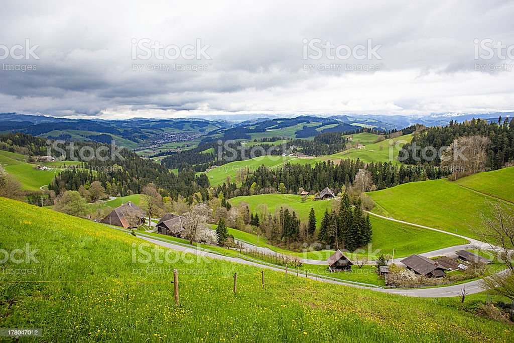 Emmental, Moosegg, Switzerland stock photo