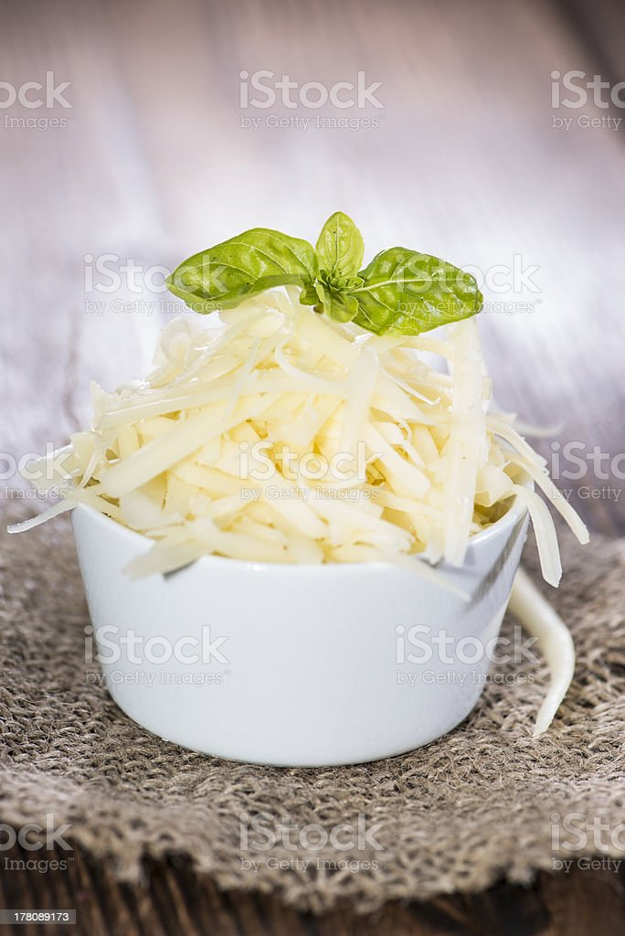 Emmentaler Cheese on wood royalty-free stock photo