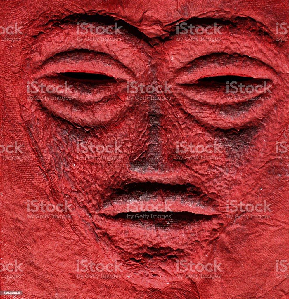 Émotions visage abstrait photo libre de droits