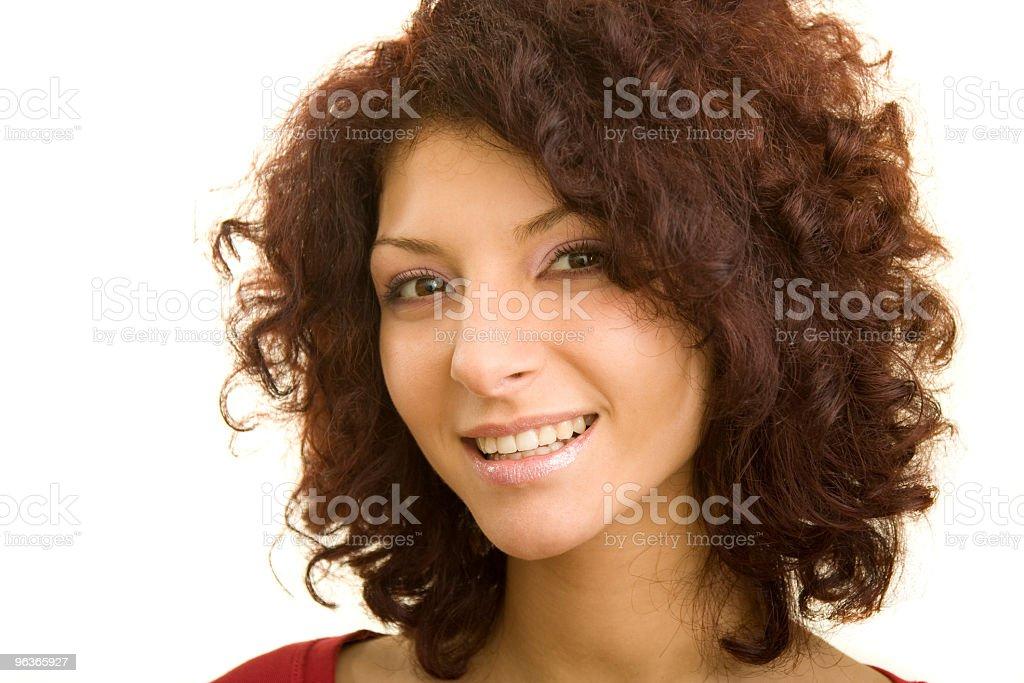 Emotional Girl royalty-free stock photo