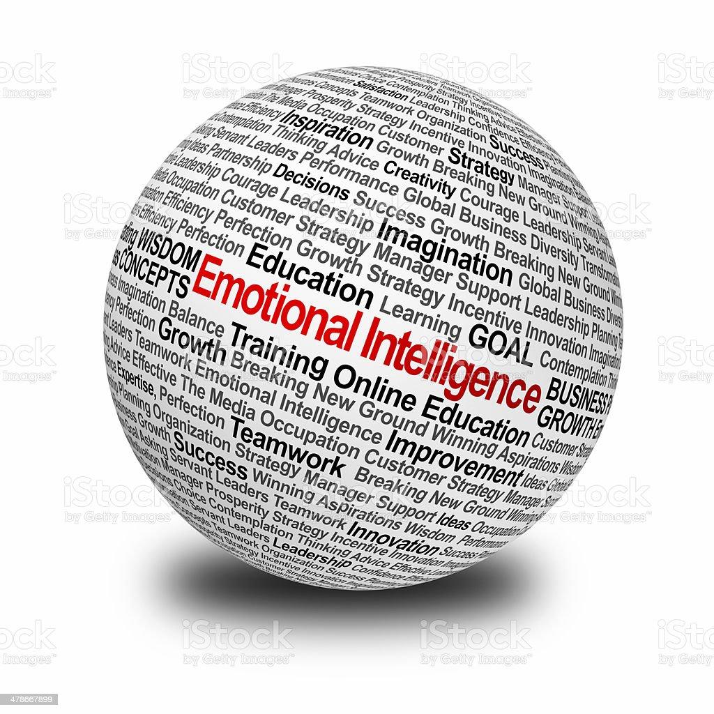 Emotional Intelligence stock photo