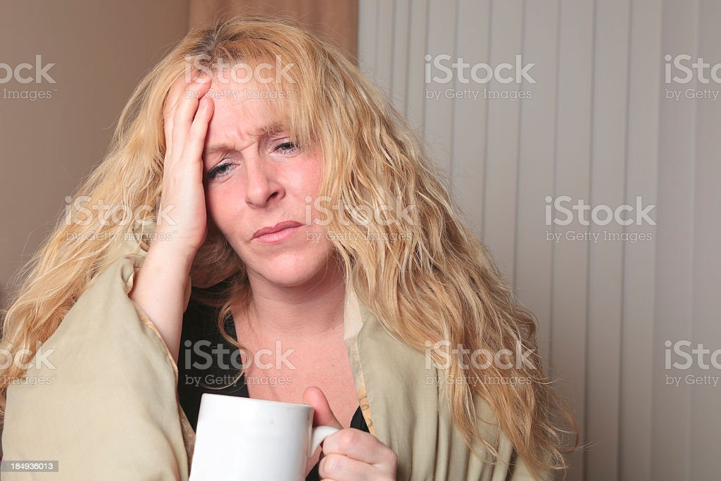 Emotional Life - Hangover royalty-free stock photo