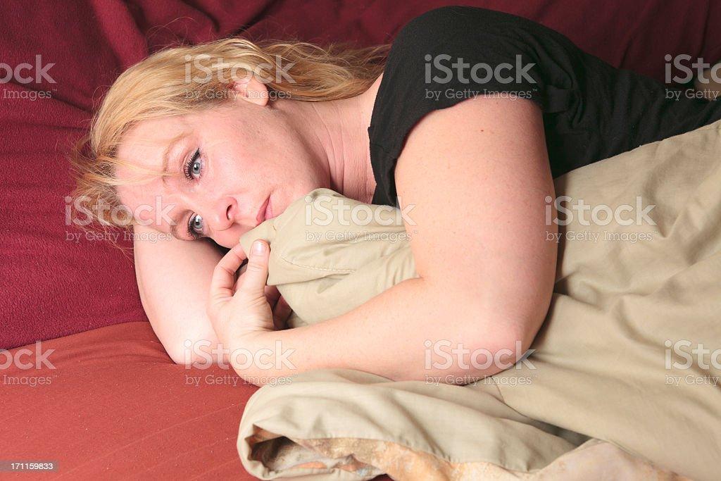 Emotional Life - Sleep Depression royalty-free stock photo