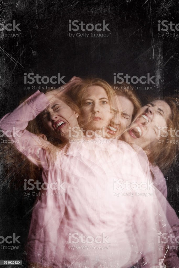 Emotional Meltdown Concept stock photo
