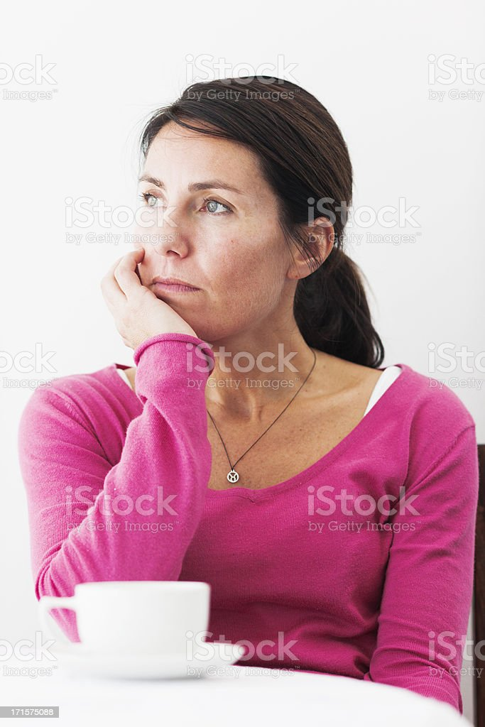 Emotional royalty-free stock photo