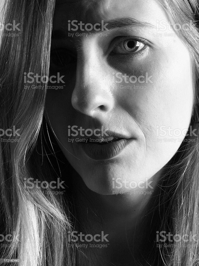 Emotional royalty-free stock photo