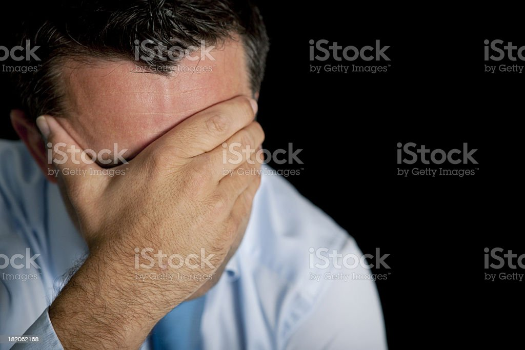 emotional stress stock photo