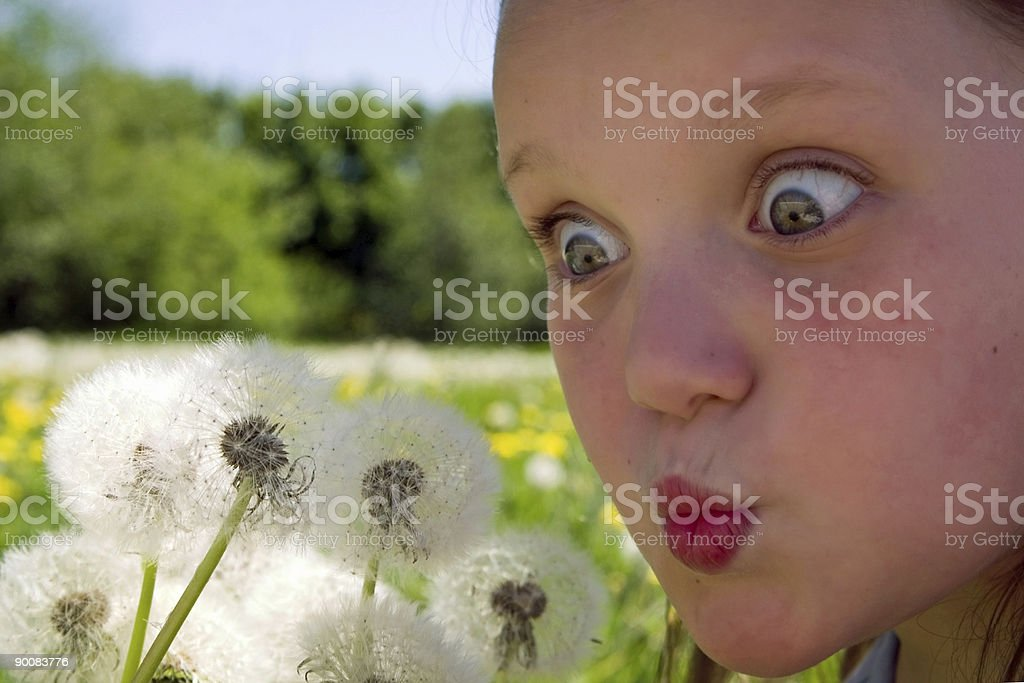 Emotions and visions royalty-free stock photo