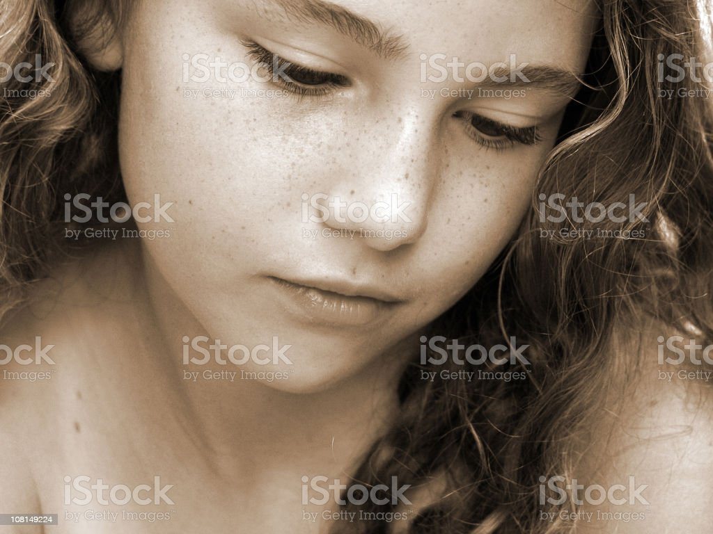 Emotions royalty-free stock photo