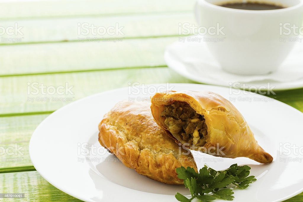 Empanada royalty-free stock photo