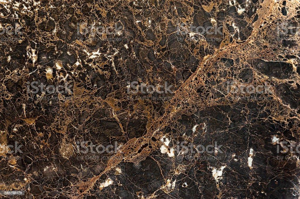 Emperador dark marble texture stock photo