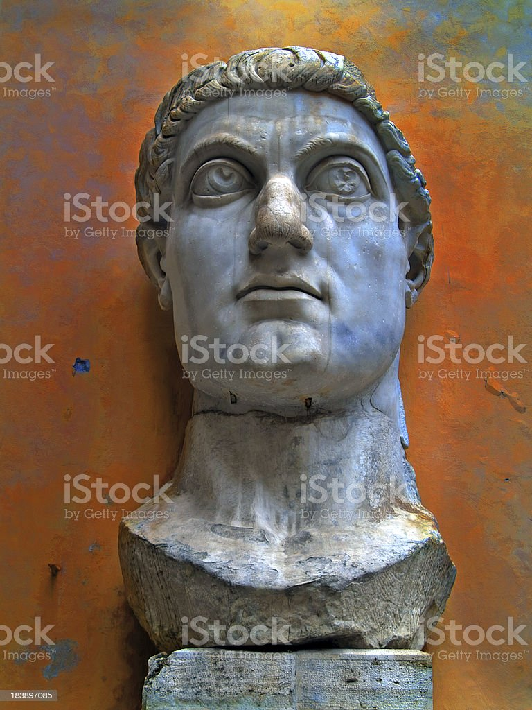 Emperor constantine, Classics stock photo