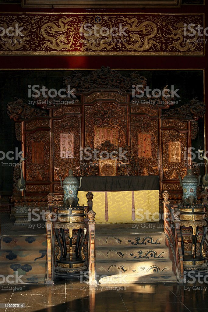 Emperors Chair royalty-free stock photo