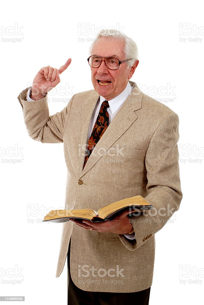 Emphatic Teaching stock photo