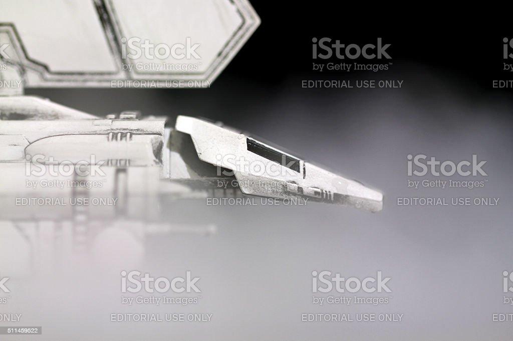 Empire in the Mist stock photo