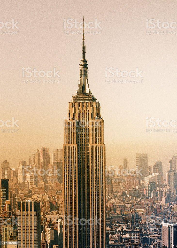 Empire Skyline,NYC. royalty-free stock photo
