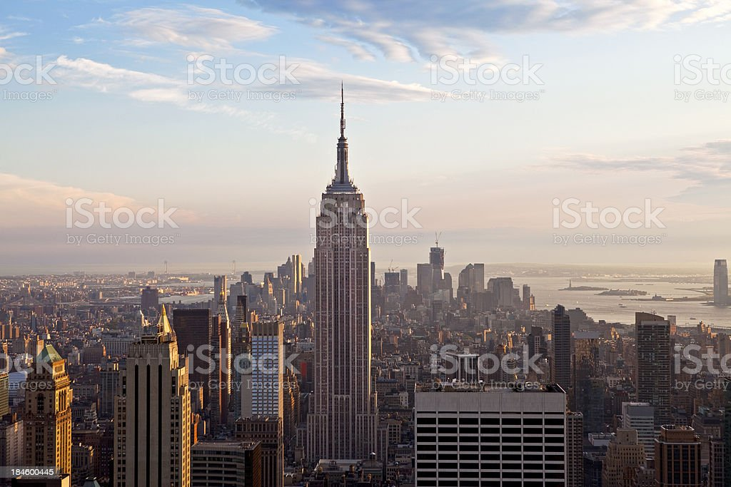 Empire State Building And Midtown royalty-free stock photo