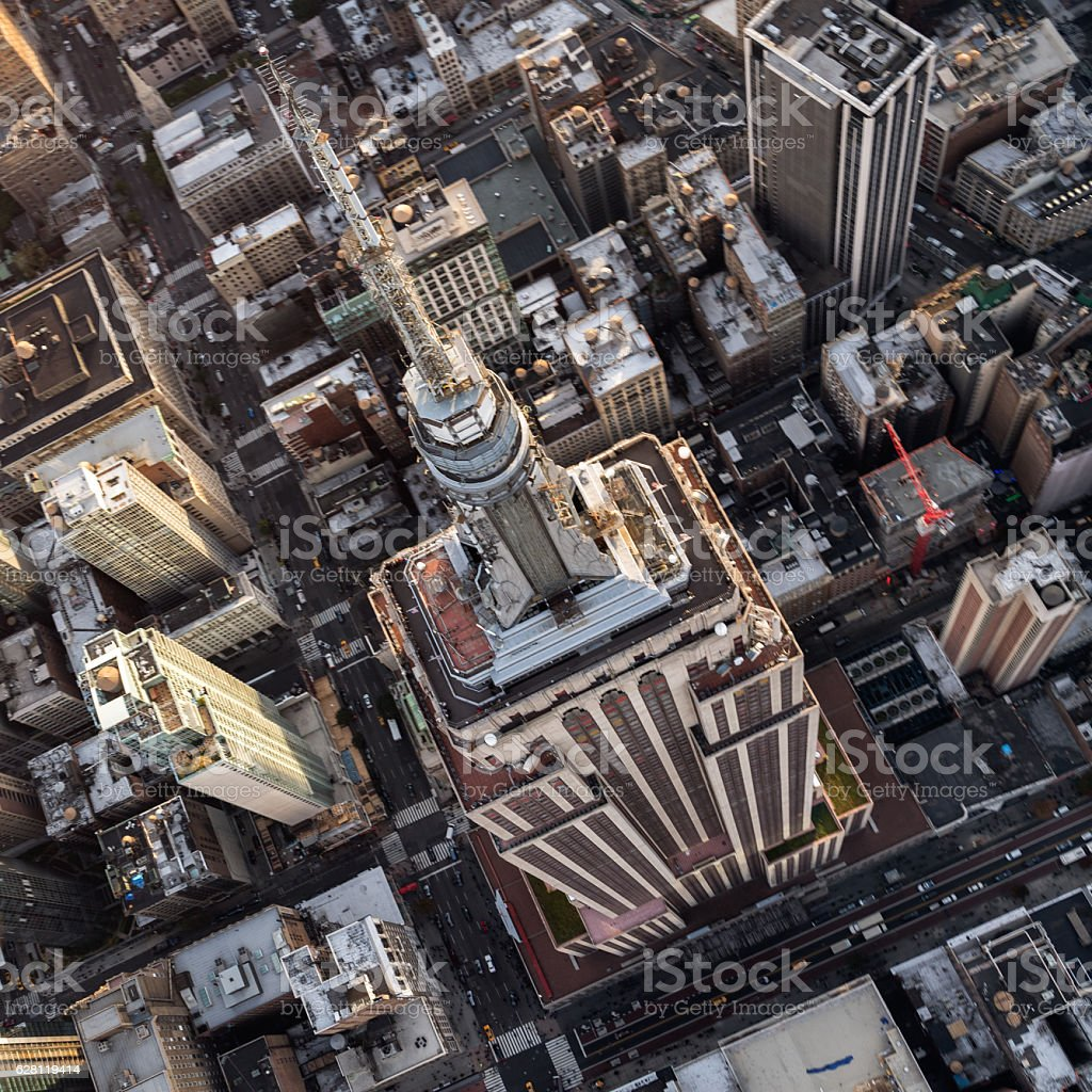 Empire State Building in New York stock photo